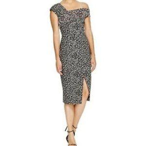 NWT🌟 N / NICHOLAS One Shoulder Sheath Midi Dress